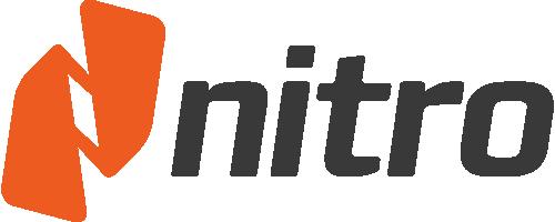 nitro logo dark