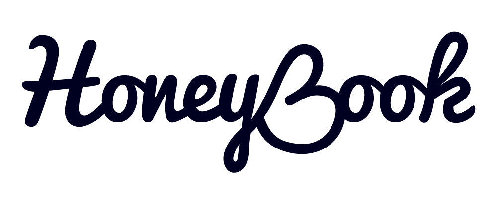 HoneyBook logo white