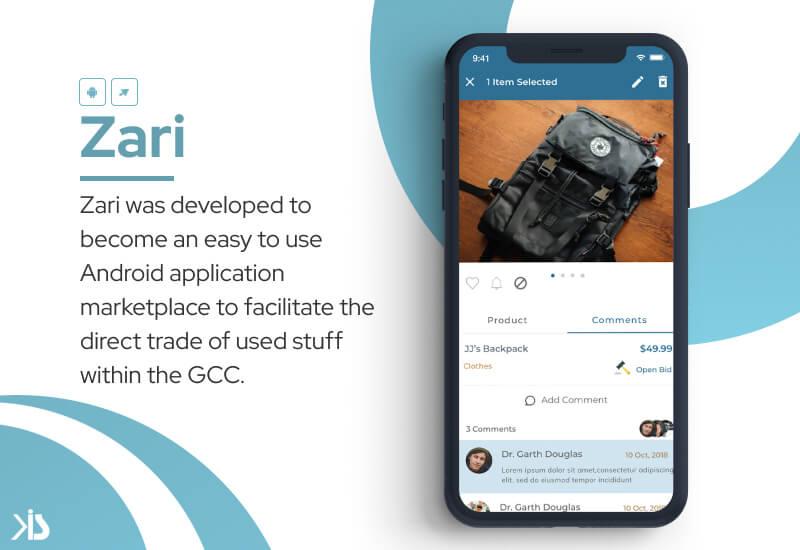 Konstant Infosolutions marketplace zari